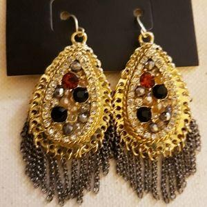 Stunning beaded boho earrings